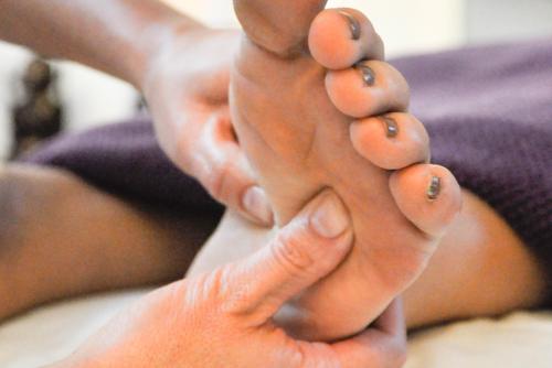 fodmassage og peeling